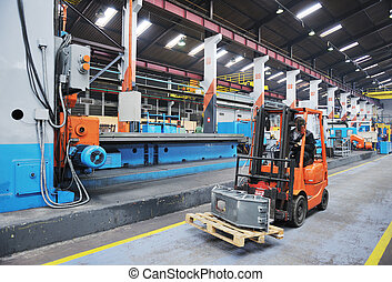industrie, ouvriers, usine, gens