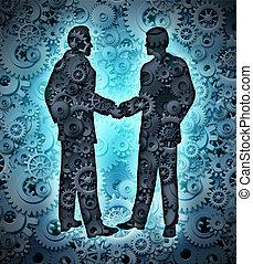 industrie, overeenkomst