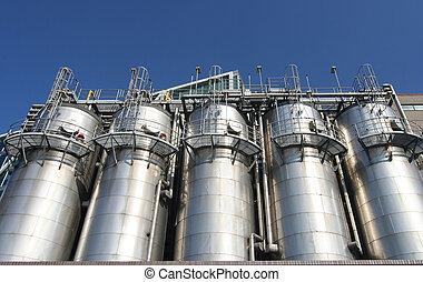 industrie, petrochemische stof
