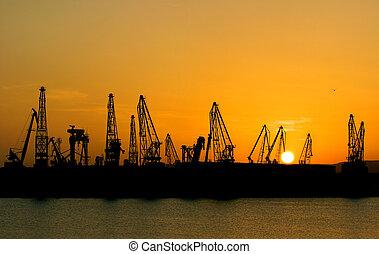 industrie, port