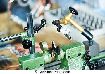 industrie, productiewerk, maatregel
