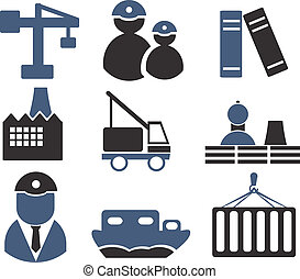 industrie, signes