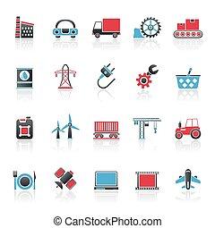 industrie, zakenbeelden