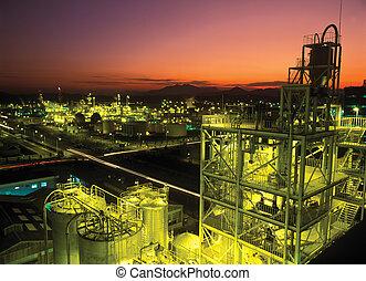 industriebedrijven, aanzicht