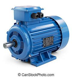 industriebedrijven, elektromotor, blauwe