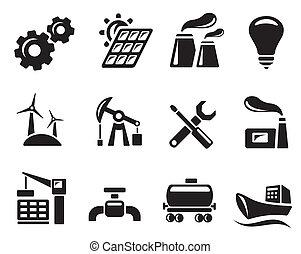 industriebedrijven, iconen