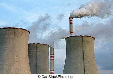 industriebedrijven, landschap