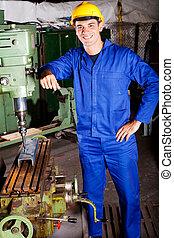 industriebedrijven, machinist