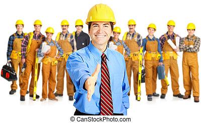 industriebedrijven, opdrachtnemers