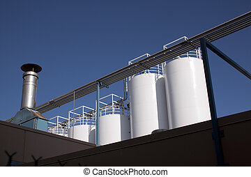 industriebedrijven, productiewerk, fabriek