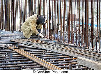 industriebedrijven, staal, lassen