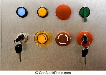 industriebedrijven, switch, paneel