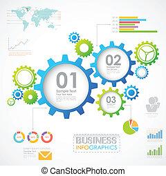 industriebedrijven, tabel, infographics