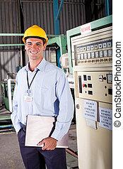 industriebedrijven, technicus