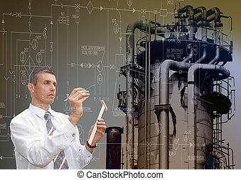 industriebedrijven, techniek, technologie