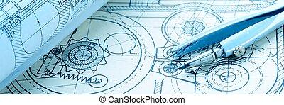 industriebedrijven, tekening