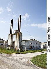industriebedrijven, verrotten