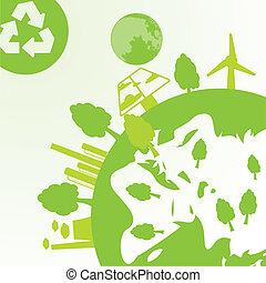 industriebereiche, ökologie, raum