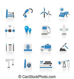 industriebereiche, geschäfts-ikon