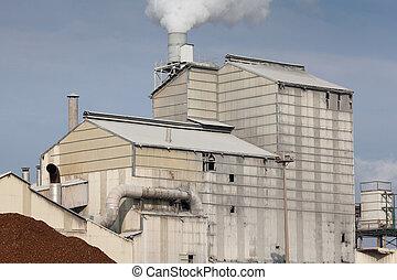industriebereiche, land, bizkaia, bilbao, baske, spanien