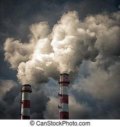 industriebereiche, verunreinigung