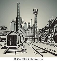 industrieel gebied