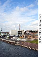industrieel gebouw
