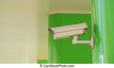 industriel, appareil-photo sécurité, cctv