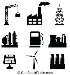 industriel, bygninger
