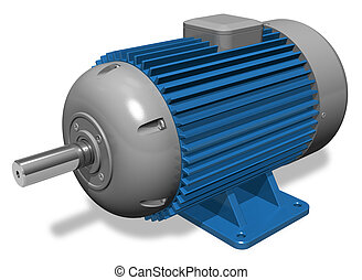 industriel, elektrisk motor