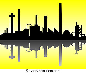 industriel, fond