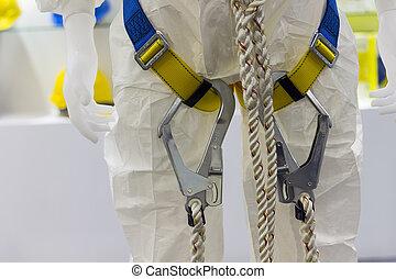 industriel, harnais, sécurité