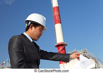 industriel, ingénieur