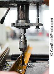 industriel, machine, foret, mécanique, utilisation, ingénieur