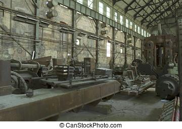 industriel, Maskineri