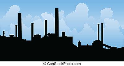 industriel, paysage