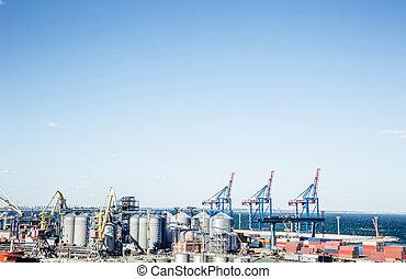 industriel, port