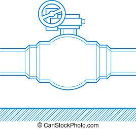 industriel, robinet