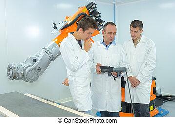industriel, robotique, amélioration