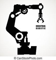 industriel, robotique