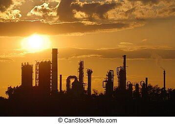 industriel, romantique