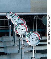 industriel, thermomètres