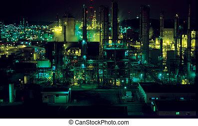 industriel, vue