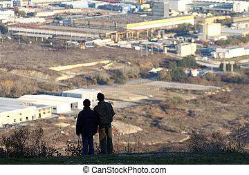 industriel, zone