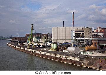industriell byggnad