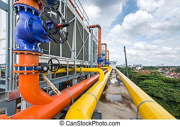 industriell, luft konditionering