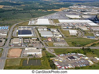 industriellt område, milton