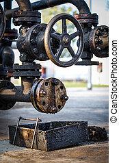 industries, huile, essence, raffinage