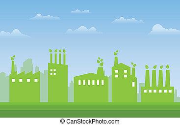 industries, vert