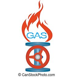 industry-2, gas, pictogram